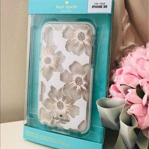 🎀Kate Spade ♠️ Floral Hardshell IPhone XR Case